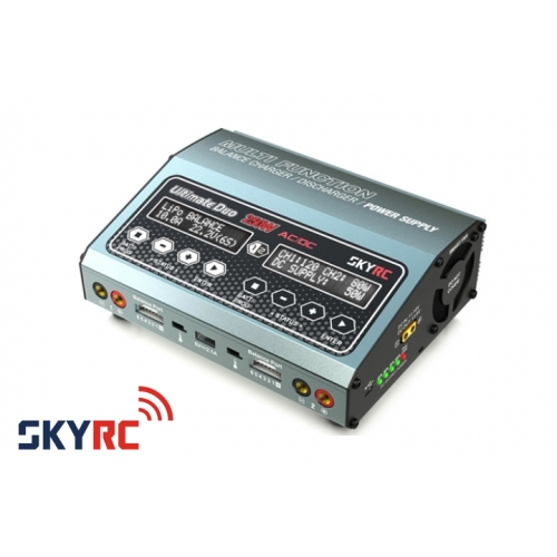 SkyRC Ultimate D250 AC/DC Balance Charger/Discharger/Power Supply 250W/10A