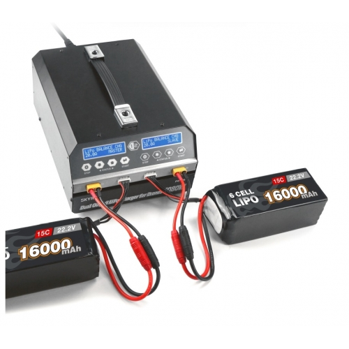 SkyRC PC1080 Dual Channel Lithium Battery Charger 1080W 20A