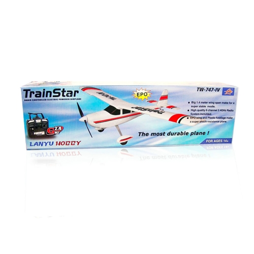 Volantex RC Trainstar Plastic Unibody durable trainer 747-4 KIT