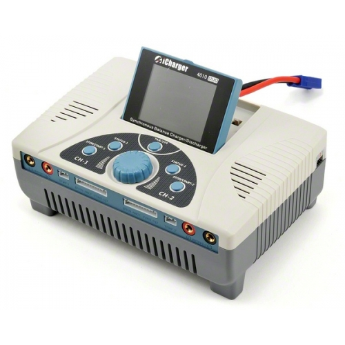 iCharger 4010 DUO 2000W 2x40A LiPo 2x10s